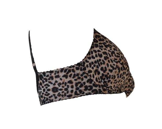 Hello Kitty Bra, leopard print bra, bra sewing, Danglez DB4E