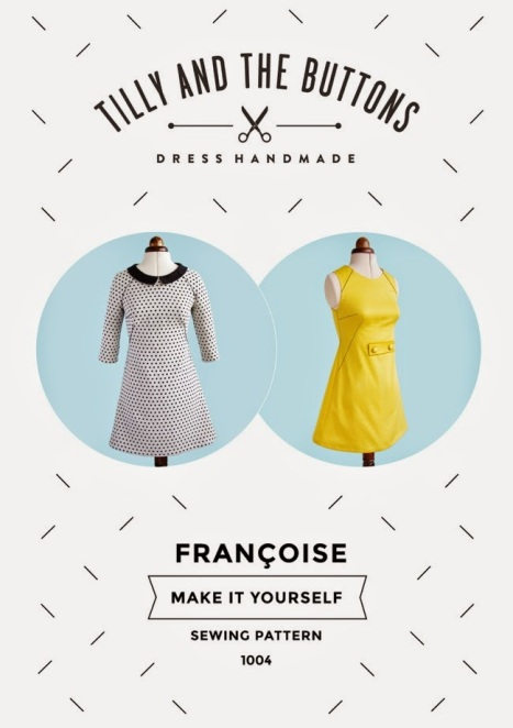 Françoise sewing pattern, Tilly and the buttons