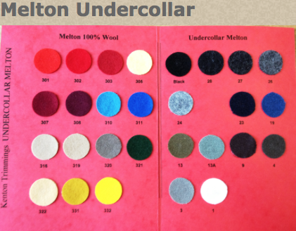 Where to buy tailoring supplies, undercollar wool